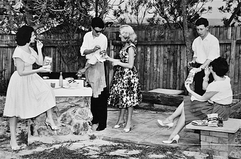 Jean Hunsley-Peter Goodall-Pearl Davies-Sales Rep-Anne Jackson.Samboy Chips Ad.JPG