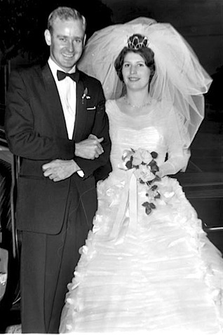 Photo of Mr & Mrs David Farr's Wedding 1961.JPG