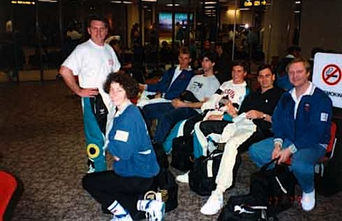 066-Barcelona 1992 - Marshall Taylor, Jennie Gaunt, Steve P.jpg
