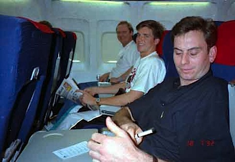 067-Barcelona 1992 - Steve Quartly, Garry O'Keefe,Shane Str.jpg