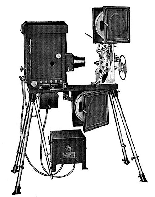 The Edison Projecting Kinetoscope Edison S Own Invention