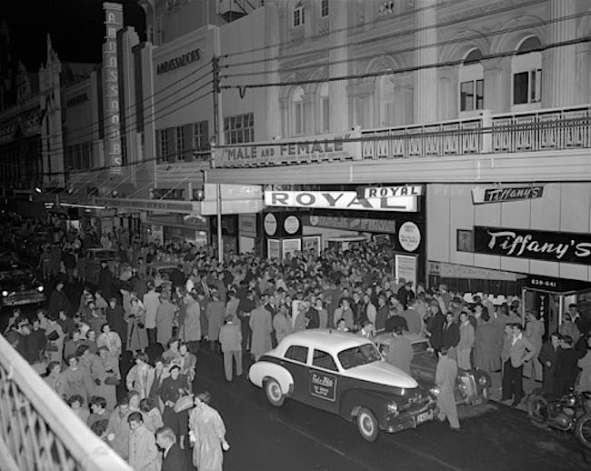 31-Cinema crowds at Royal and Ambassadors in 1955.jpg