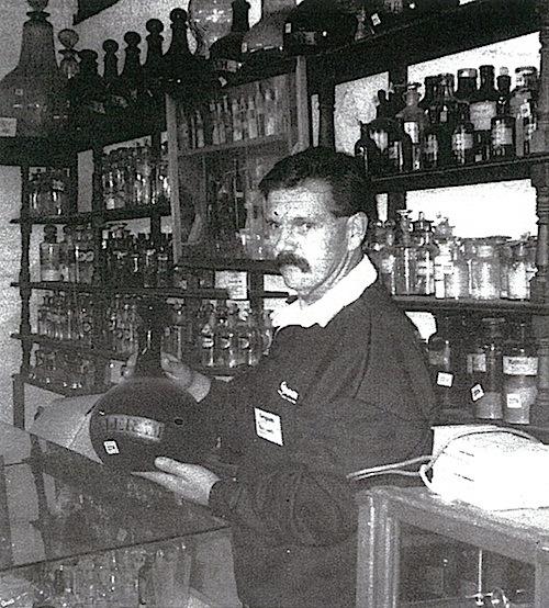 43-Paul Ward of Gregsons in Chemist Shop.jpg