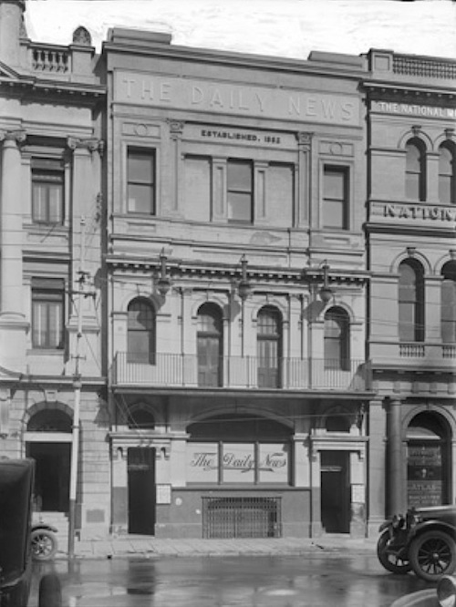 Western australian television history wa tv history for 5 st georges terrace perth